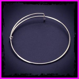 🆕 Sterling Silver Wire Adjustable Wire Bangle